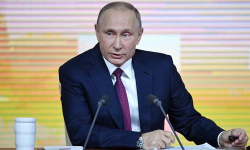 Đảng cầm quyền Nga ủng hộ Tổng thống Putin tái đắc cử - Ảnh 1
