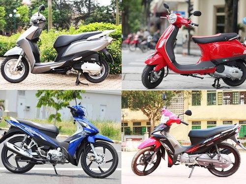 """Thị trường xe máy Việt: Tung chiêu kích cầu và cảnh """"cá lớn nuốt cá bé"""" - Ảnh 1"""
