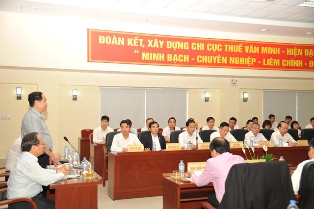 Cục thuế Hà Nội đẩy mạnh cải cách hành chính thuế - Ảnh 1