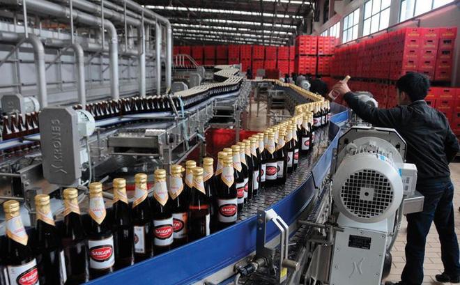 Sabeco bán bia, thu hơn 75 tỷ đồng mỗi ngày - Ảnh 1