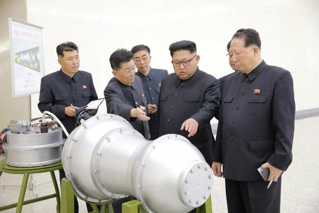 Triều Tiên tuyên bố sở hữu bom nhiệt hạch cho tên lửa đạn đạo - Ảnh 1