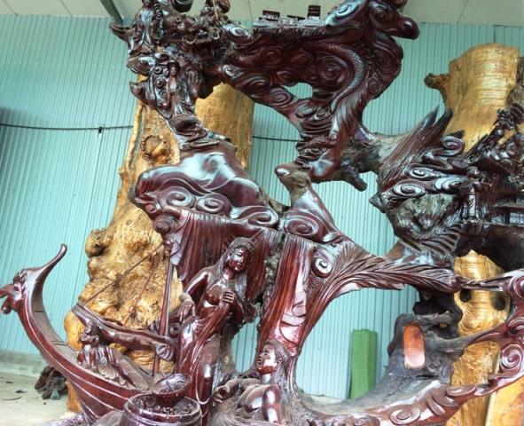 """Những tác phẩm từ gỗ quý của đại gia Việt khiến nhiều người """"hoảng hốt"""" khi nghe giá - Ảnh 10"""
