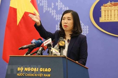 Việt Nam lên án Trung Quốc cài thiết bị gây nhiễu sóng ở quần đảo Trường Sa - Ảnh 1