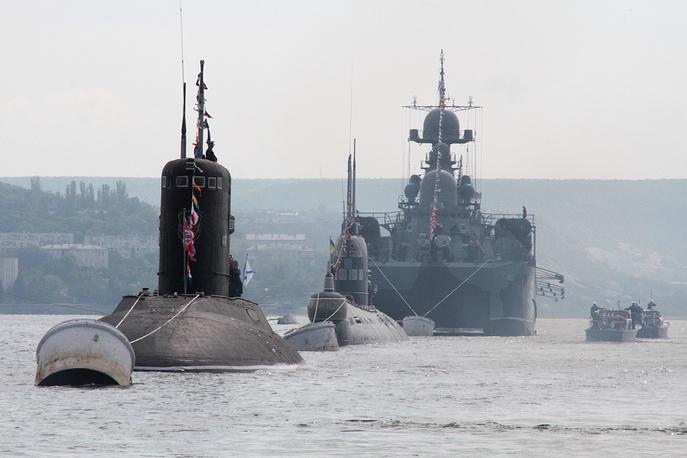 Hạm đội tàu chiến Nga khai hỏa sát sườn Syria - Ảnh 1