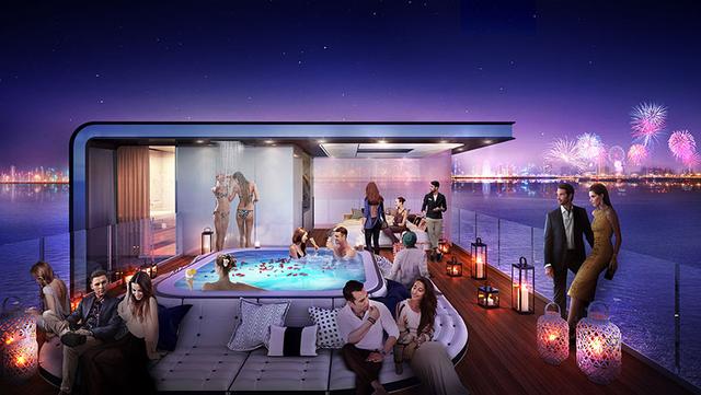 Dubai chuẩn bị xây siêu biệt thự nổi trên biển, mỗi căn trị giá khoảng 626 tỷ  - Ảnh 3