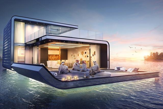 Dubai chuẩn bị xây siêu biệt thự nổi trên biển, mỗi căn trị giá khoảng 626 tỷ  - Ảnh 4