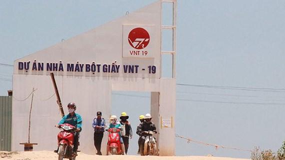 Quảng Ngãi yêu cầu chủ đầu tư nhà máy bột giấy đền bù thiệt hại cho dân - Ảnh 1