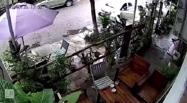 Điều tra vụ chủ quán cà phê ở Quảng Bình bị bắn giữa ban ngày - Ảnh 1