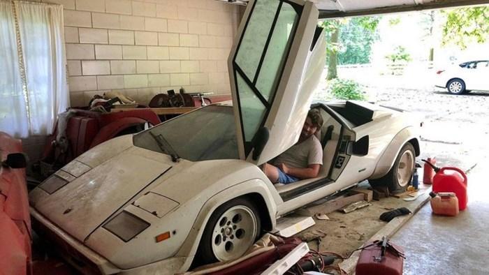 Cháu nội vô tình phát hiện siêu xe Lamborghini nửa triệu đô của ông bị bỏ xó suốt 20 năm - Ảnh 2