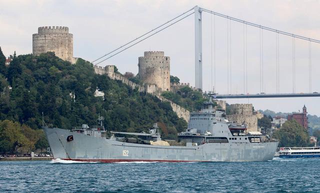 Nga dồn dập điều tàu hải quân tới tiếp viện vũ khí cho Syria - Ảnh 2