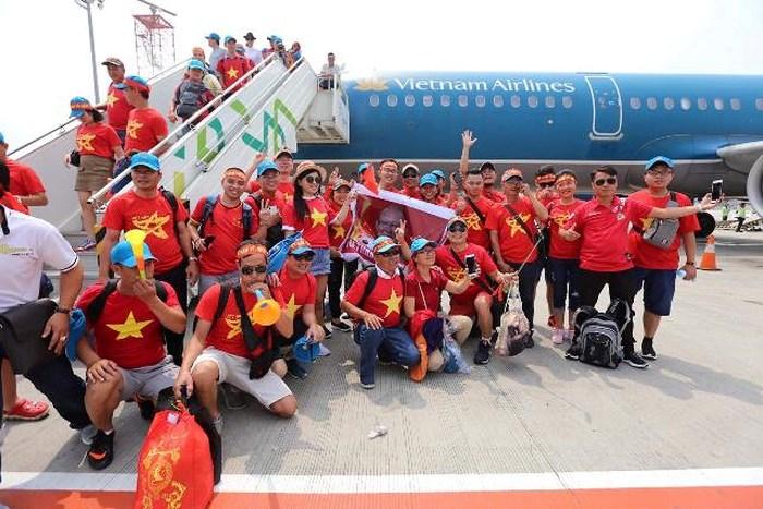 Vietnam Airlines bố trí chuyến bay riêng đón đoàn thể thao Việt Nam về nước - Ảnh 1