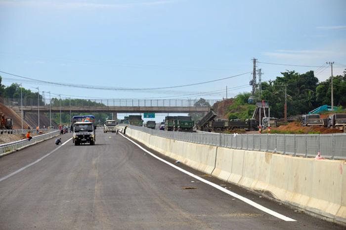 Đoạn cao tốc Tam Kỳ - Quảng Ngãi chưa tiến hành thu phí  - Ảnh 1