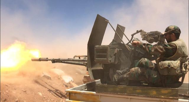 Quân đội Syria tấn công sào huyệt cuối cùng của những kẻ khủng bố - Ảnh 1