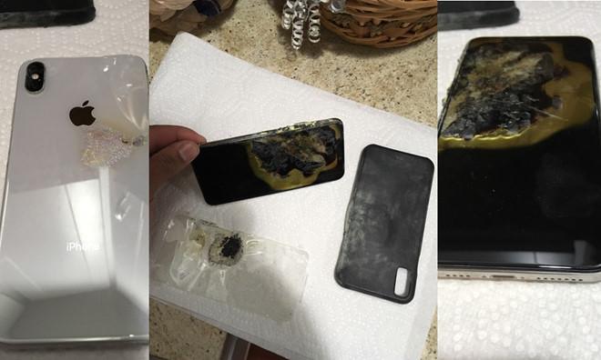 iPhone XS Max bất ngờ phát nổ, bốc khói trong túi quần người dùng  - Ảnh 1