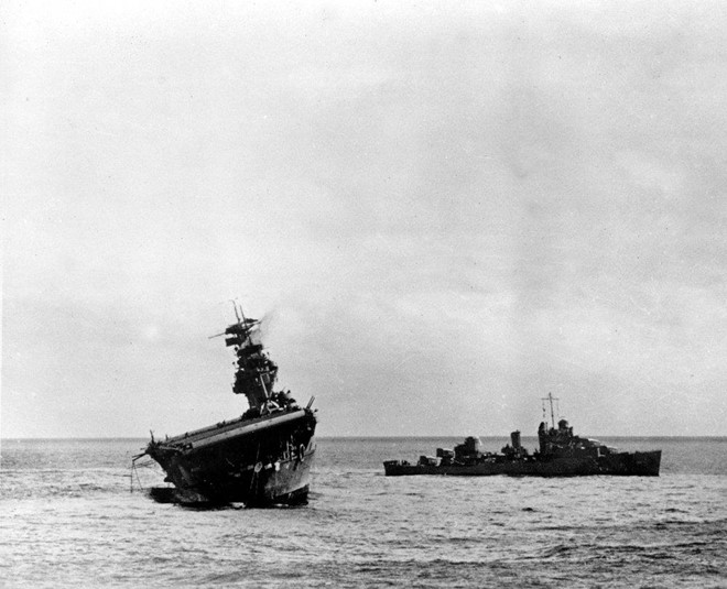 Tìm thấy tàu sân bay của Nhật bị Mỹ đánh chìm trong Thế chiến II ở biển Thái Bình Dương - Ảnh 1