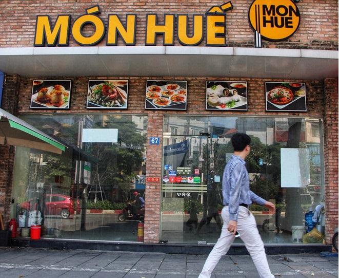 Món Huế 67 Trần Duy Hưng chấp nhận mất gần nửa tỷ tiền thuê mặt bằng - Ảnh 1