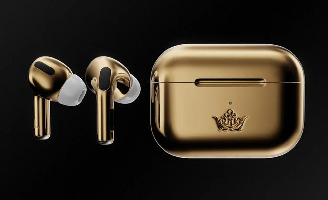 """Bộ tai nghe không dây """"độ lại"""" AirPods Pro có gì đặc biệt mà giá hơn 1,5 tỷ đồng? - Ảnh 3"""