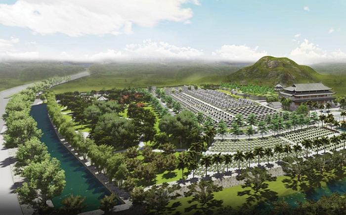 Hà Nội tạm dừng cắm mốc giới dự án mở rộng Nghĩa trang Thanh Tước - Ảnh 1