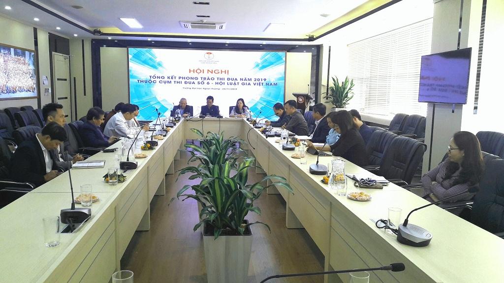 Cụm thi đua các chi hội Luật gia trực thuộc Trung ương Hội tổng kết công tác năm 2019 - Ảnh 1