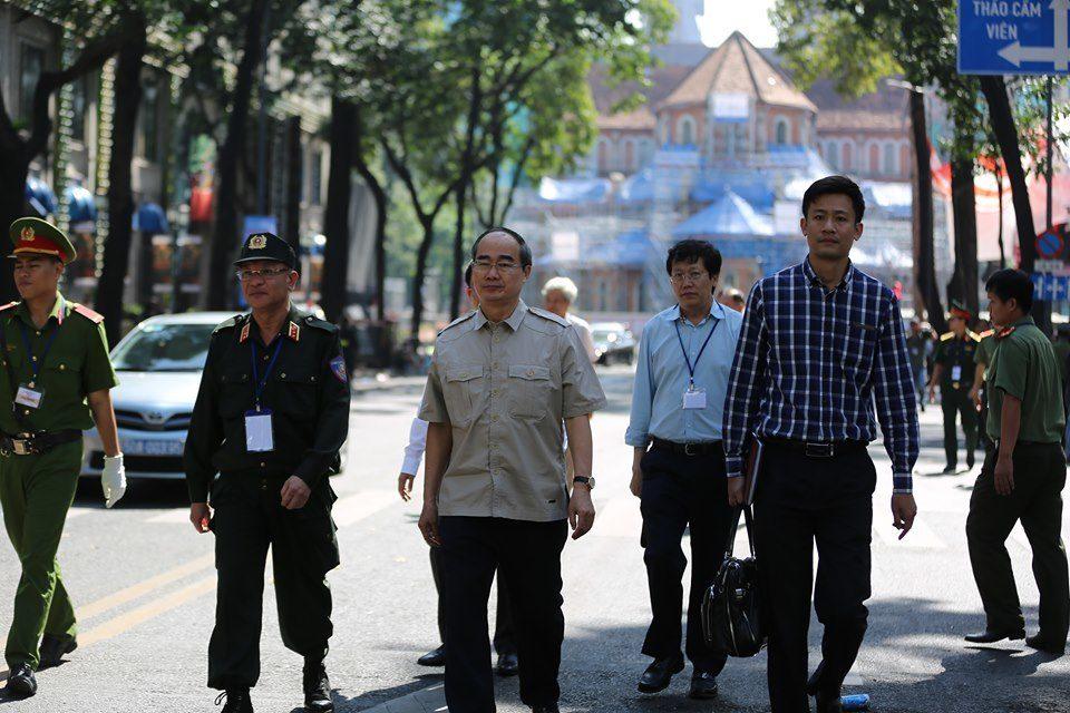Lực lượng hùng hậu hơn 4.000 người tham gia diễn tập chống khủng bố ở TP.HCM - Ảnh 1