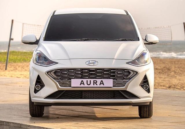Hyundai ra xe cỡ nhỏ Aura ra mắt thị trường Ấn Độ, giá từ 189 triệu đồng - Ảnh 1