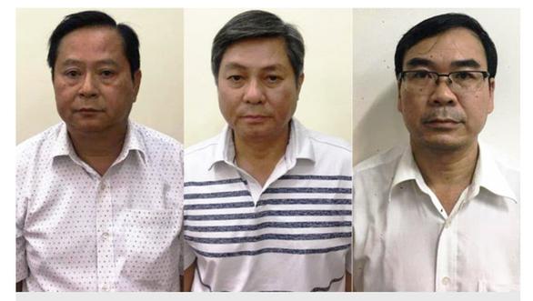 Cựu Phó Chủ tịch TP.HCM Nguyễn Hữu Tín và 4 đồng phạm hầu tòa - Ảnh 1