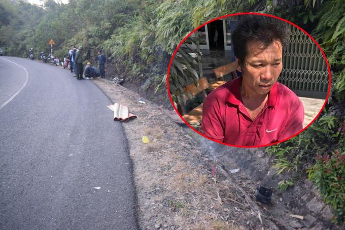 Đã bắt được tài xế tông chết cán bộ kiểm lâm rồi bỏ trốn ở Lâm Đồng - Ảnh 1