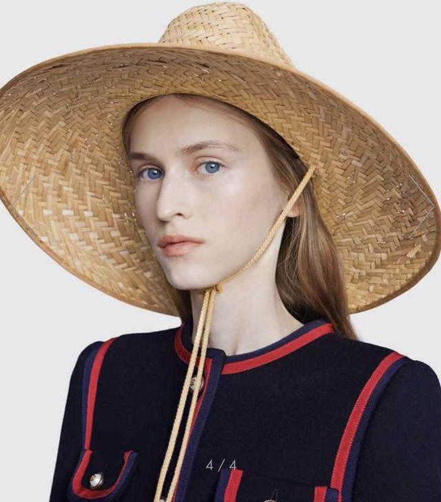 Hết nhang thơm, dép rọ, Gucci lại quay sang bán mũ rơm giá hơn chục triệu đồng - Ảnh 1