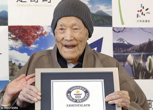 Cụ bà 116 tuổi ở Nhật Bản được công nhận là người thọ nhất thế giới - Ảnh 2