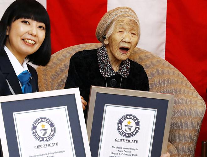 Cụ bà 116 tuổi ở Nhật Bản được công nhận là người thọ nhất thế giới - Ảnh 1