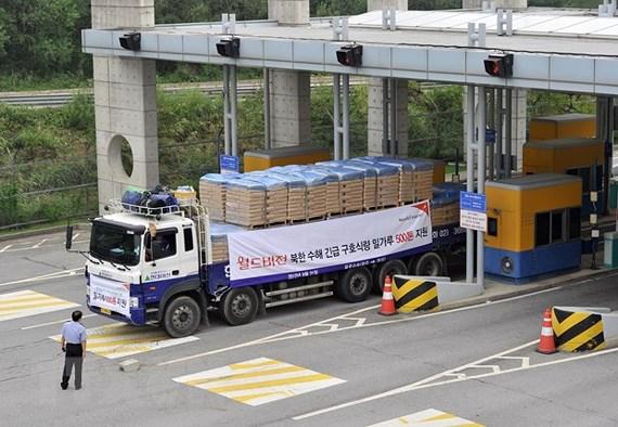 Hàn Quốc hỗ trợ nhân đạo 8 triệu USD cho Triều Tiên - Ảnh 1