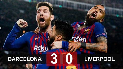 """Bán kết Champions League: Liverpool bị Barcelona """"đè bẹp"""" với tỷ số 0-3 - Ảnh 1"""