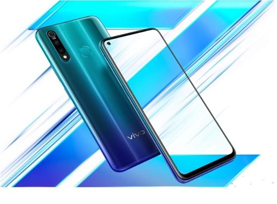 Ra mắt Smartphone Vivo Z5x màn hình đục lỗ giá từ 4,7 đến 6,7 triệu đồng - Ảnh 1