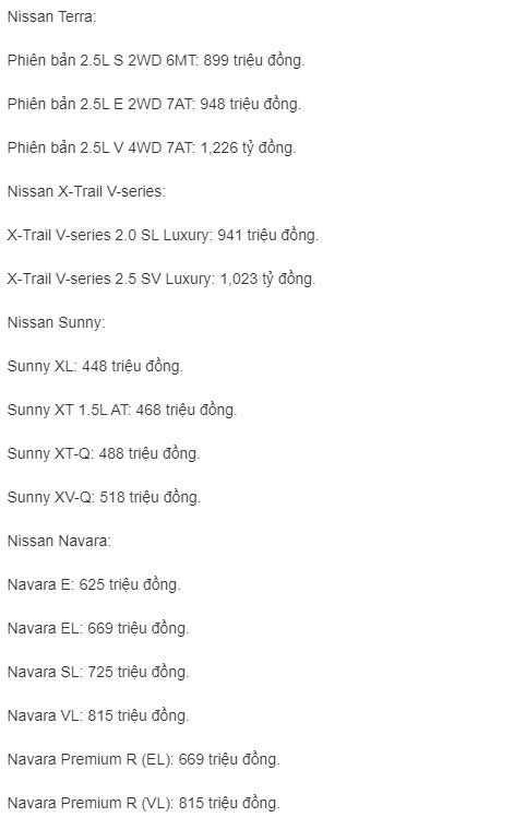 Bảng giá xe Nissan mới nhất tháng 5/2019: Navara bản EL giá 669 triệu đồng - Ảnh 2