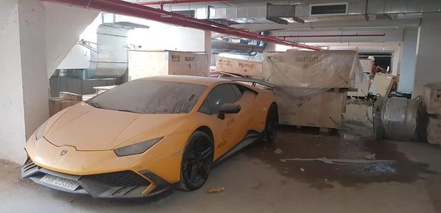 """Dân mạng """"xót của"""" khi phát hiện siêu xe Lamborghini Huracan từng qua tay Cường Đôla nằm phủ bụi  - Ảnh 1"""