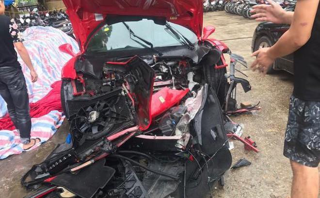 """Xế sang Ferrari 488 GTB của ca sĩ Tuấn Hưng sắp """"gầm rú"""" trở lại sau tai nạn - Ảnh 3"""