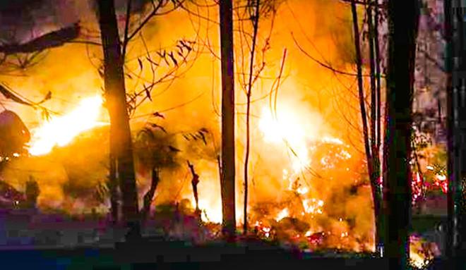 Đốt thực bì trồng rừng, một y sĩ ở Quảng Trị bị chết ngạt - Ảnh 1