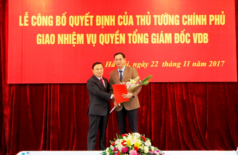 """""""Ghế"""" Tổng Giám đốc Ngân hàng Phát triển Việt Nam có chủ mới - Ảnh 1"""