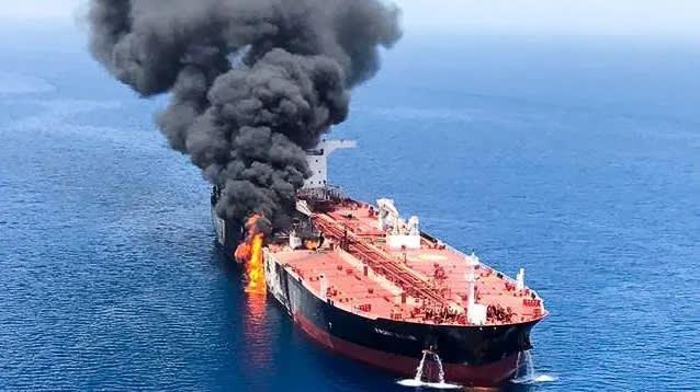Iran nổi giận vì bình luận của Anh về vụ tấn công tàu chở dầu - Ảnh 1
