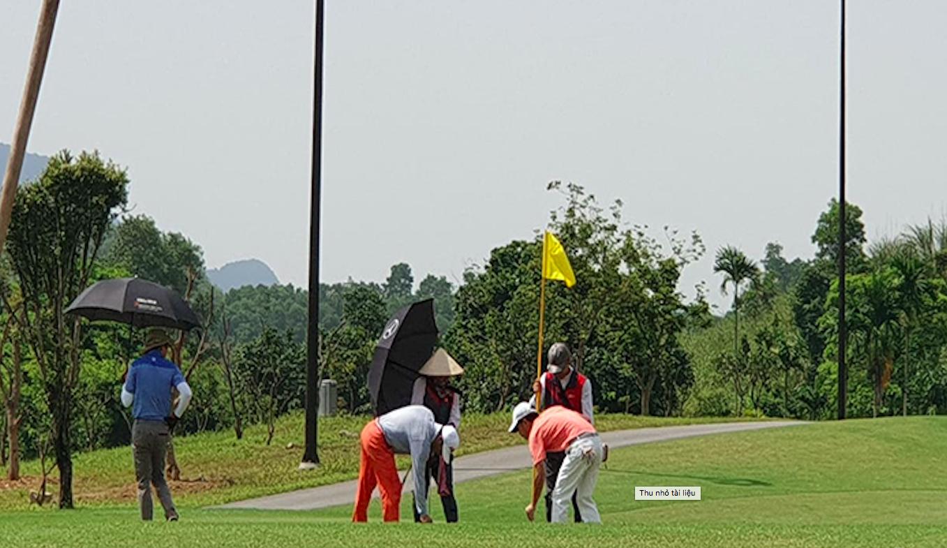 Thanh tra Bộ Xây dựng xử phạt Sân golf 18 hố Kim Bảng - Ảnh 1