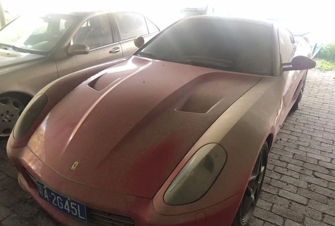 """Siêu xe Ferrari 599 GTB chuẩn bị được thanh lý """"đồng nát"""" với giá chưa tới 6 triệu đồng - Ảnh 2"""