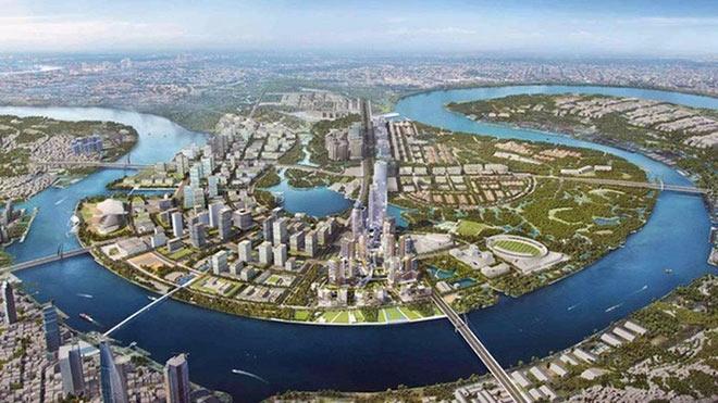 Chủ tịch UBND TP.HCM khẳng định chưa nhận được kết luận thanh tra khu đô thị mới Thủ Thiêm - Ảnh 3
