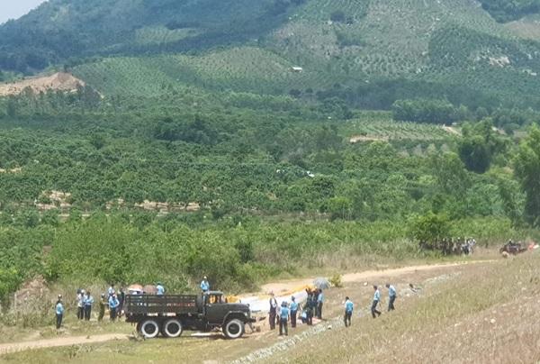 Bộ Quốc phòng thông tin nguyên nhân vụ rơi máy bay quân sự ở Khánh Hòa - Ảnh 1