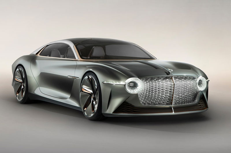 Vẻ đẹp long lanh của siêu xe Bentley được thiết kế nhân kỷ niệm 100 năm thành lập hãng - Ảnh 1