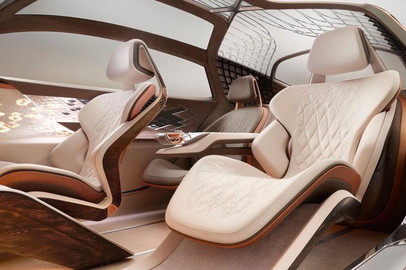 Vẻ đẹp long lanh của siêu xe Bentley được thiết kế nhân kỷ niệm 100 năm thành lập hãng - Ảnh 7