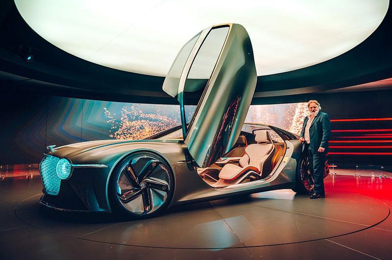 Vẻ đẹp long lanh của siêu xe Bentley được thiết kế nhân kỷ niệm 100 năm thành lập hãng - Ảnh 2