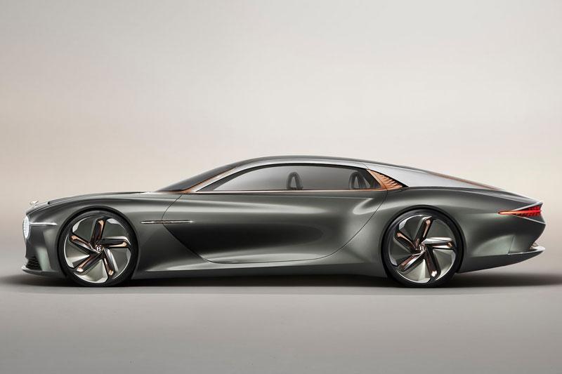 Vẻ đẹp long lanh của siêu xe Bentley được thiết kế nhân kỷ niệm 100 năm thành lập hãng - Ảnh 4