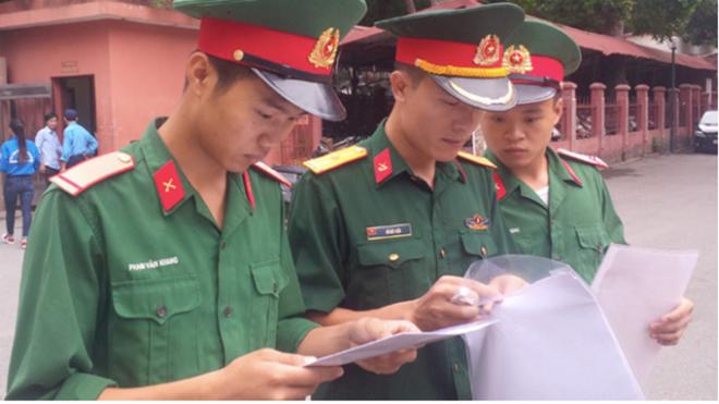 Các trường quân đội công bố mức điểm nhận hồ sơ xét tuyển năm 2019 - Ảnh 1