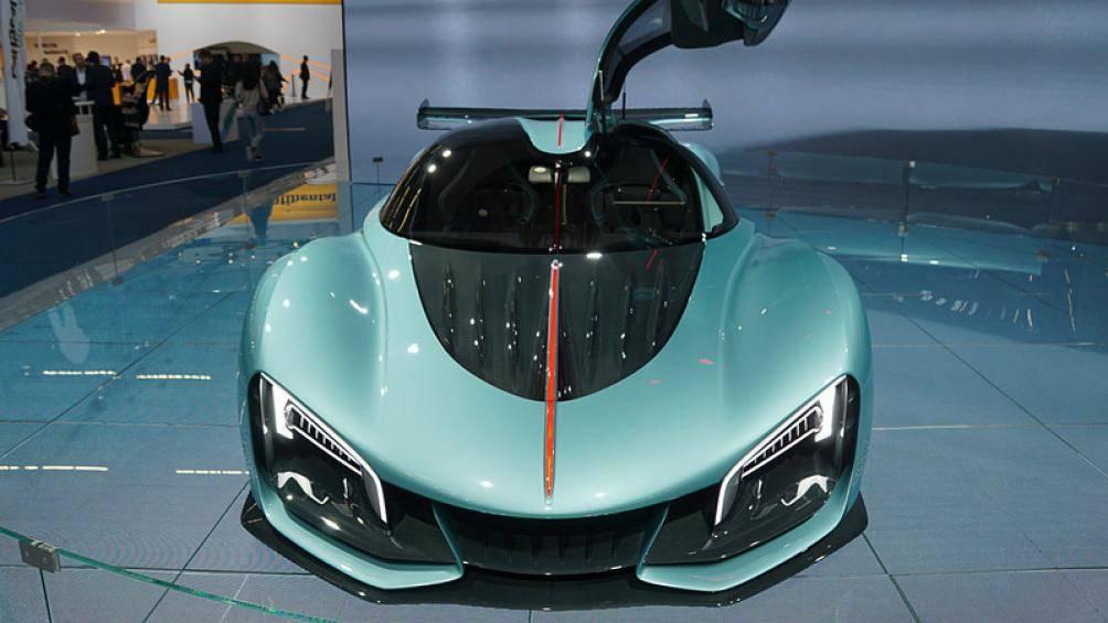 """Siêu xe Hồng Kỳ lần đầu xuất hiện ở Frankfurt Motor Show 2019 khiến giới chơi xe """"lóa mắt"""" - Ảnh 3"""