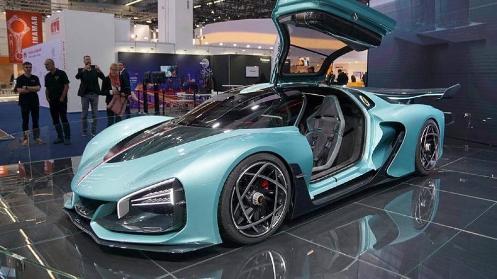 """Siêu xe Hồng Kỳ lần đầu xuất hiện ở Frankfurt Motor Show 2019 khiến giới chơi xe """"lóa mắt"""" - Ảnh 4"""